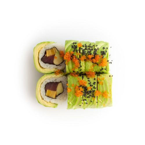 Sushi specialroll Caterpillar - sushi delivery Nitra