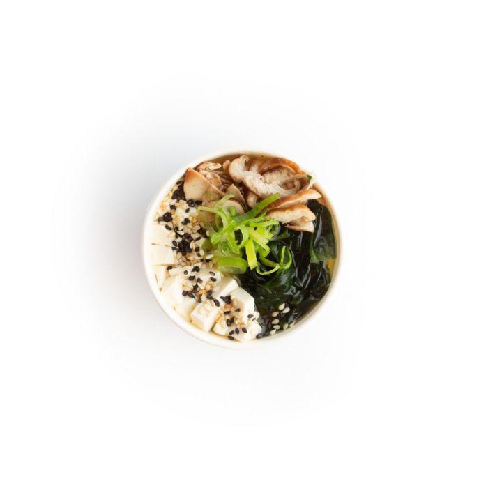 Miso Saiko soup - sushi delivery Nitra