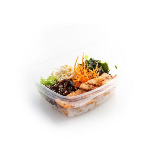 Poké grilled salmon - delivery Nitra