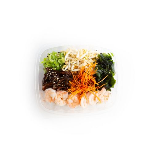 Poké shrimp - sushi delivery Nitra