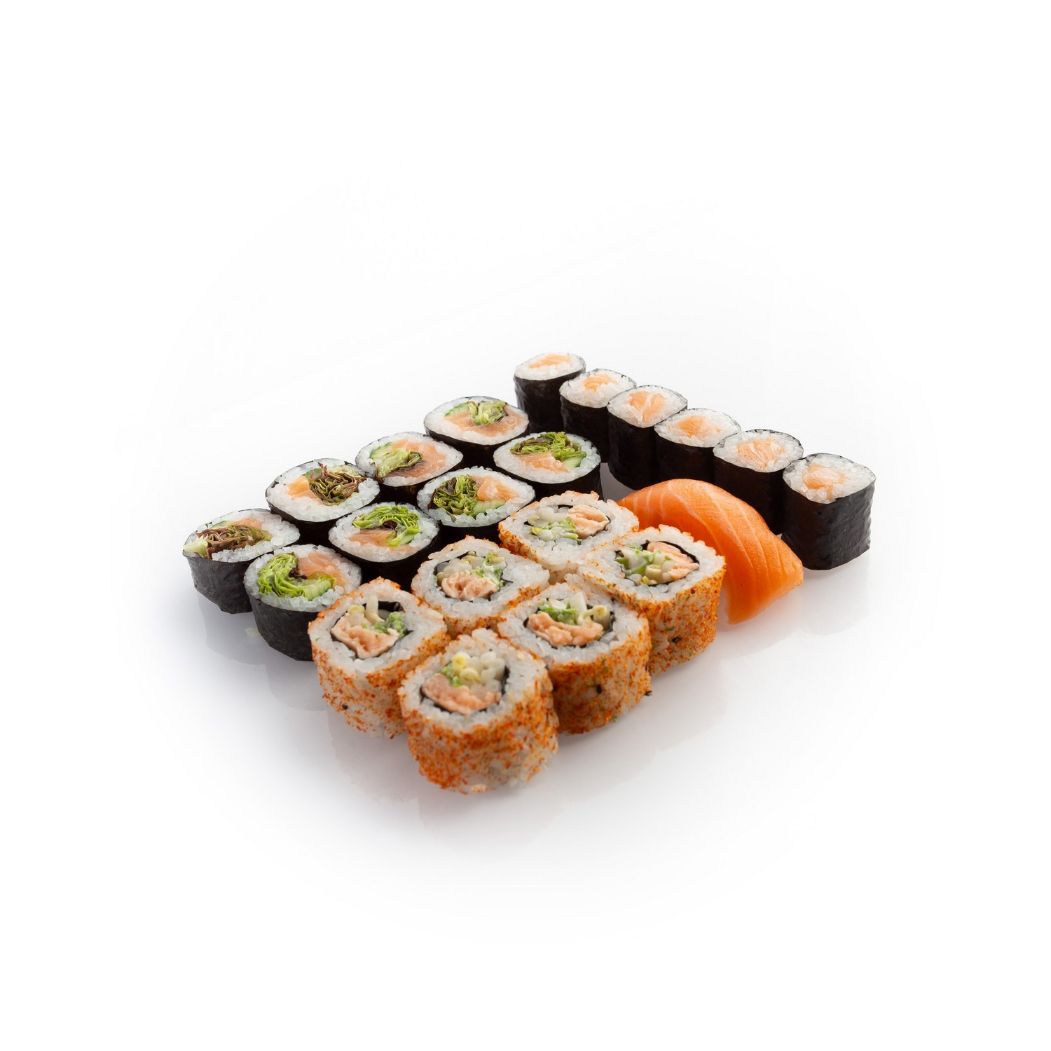 Sushi set salmon lover - delivery Nitra