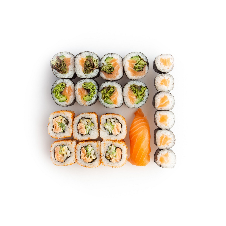 Sushi set salmon lover - sushi delivery Nitra