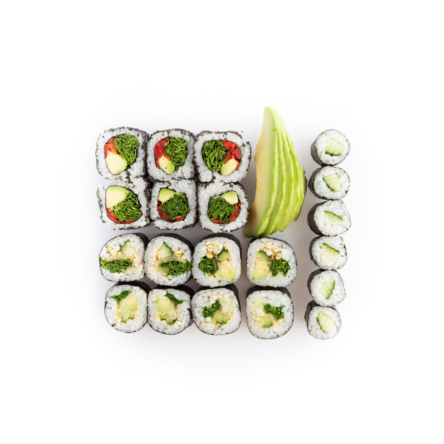 Sushiset green lover - sushi delivery Nitra