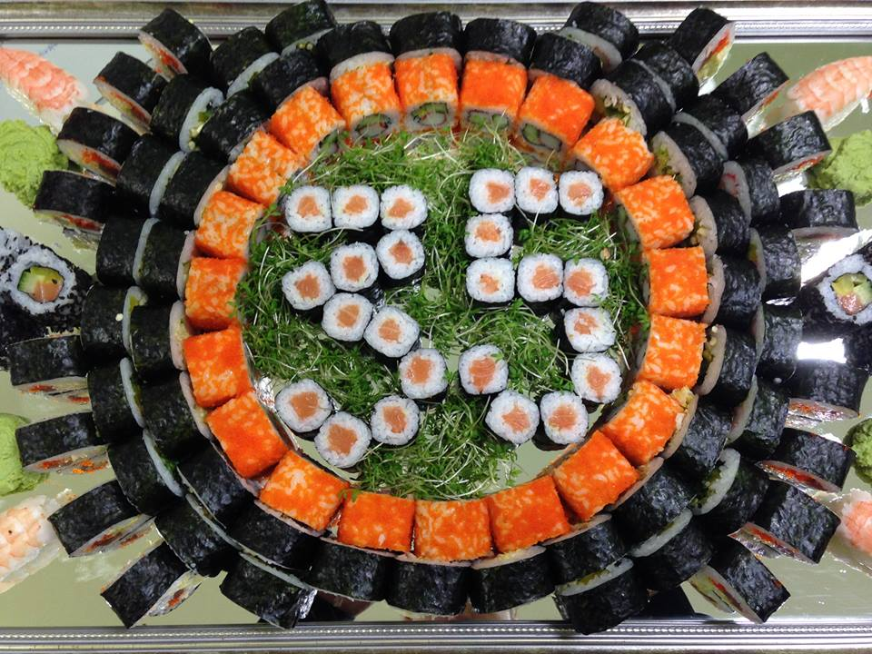 Maki losos catering - sushi delivery Nitra