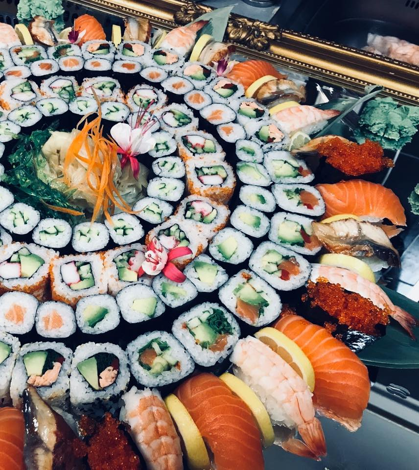 Sushi delivery and catering - japanese restaurant