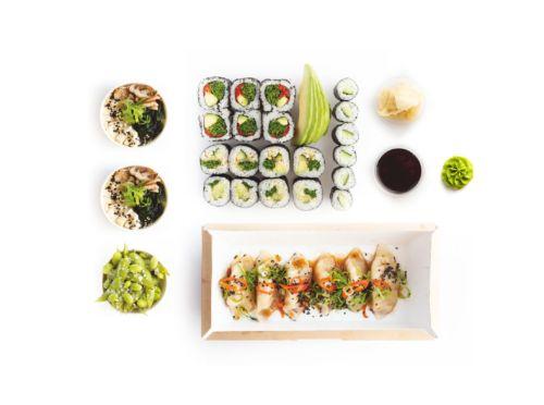 Akira sushi set - delivery Nitra
