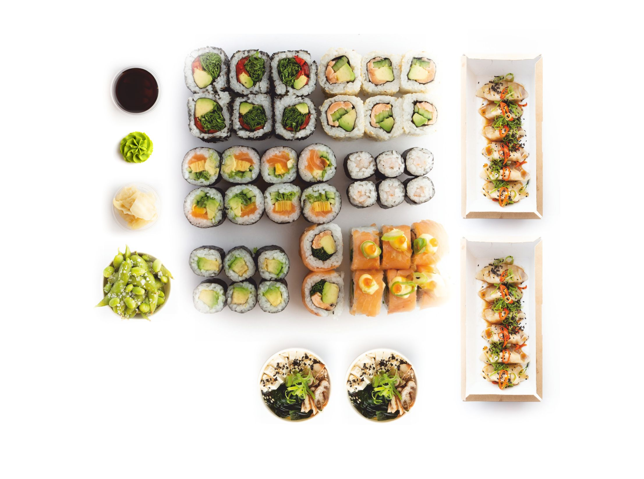 Osaka sushi set - food delivery Nitra