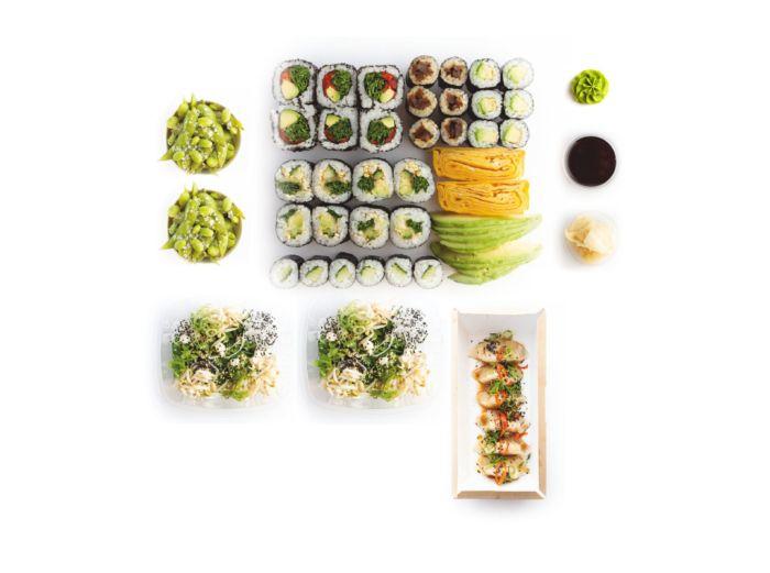 Ukeru sushi set - delivery Nitra
